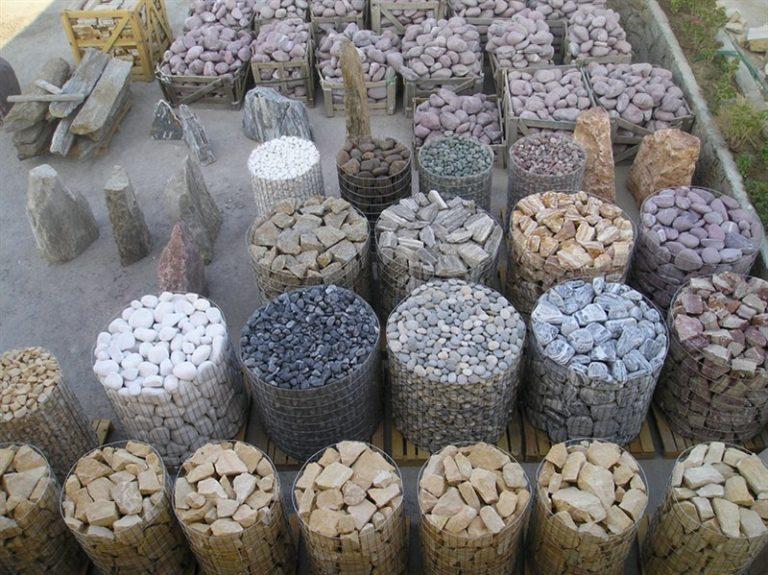 Karışık Çakıl Taşları